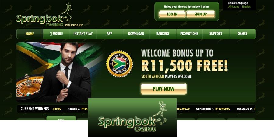 South Africa Springbok Online Casino