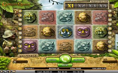 Best Online Slots Gonzos Quest