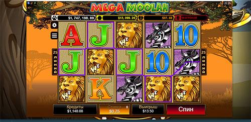 Online 5 Reel Slots Mega Moohla