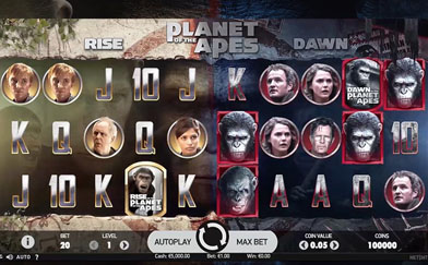 Best Online Slots Planet of the Apes