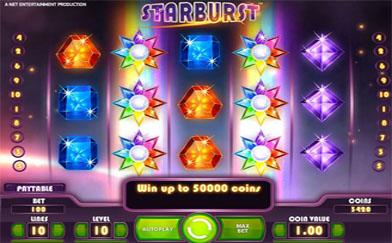 Best Online Slots Starburst