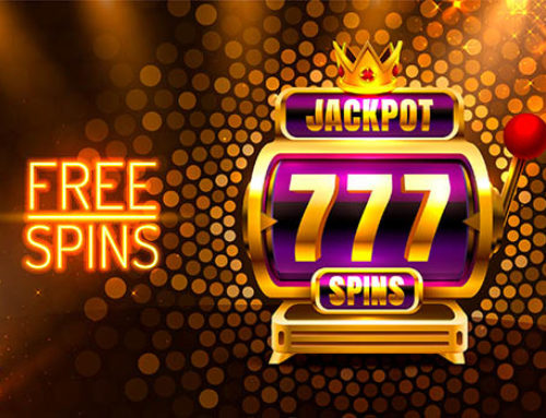 What is the definition of a free spin at a casino
